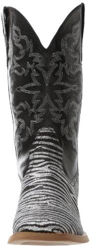 Riding Boot Black Glitter Roper Zebra Women's IwtFwSnq
