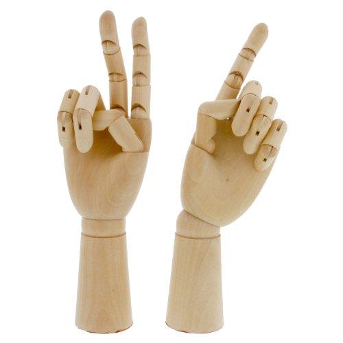 US SUPPLY Artist Manikin Hands