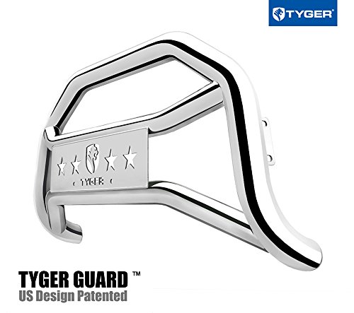 Tyger Auto TG-GD6F60257 Front Bumper Guard Stainless Steel Fits 2017-2018 F250/350/450/550 Super Duty | Light Mount | Bull Bar