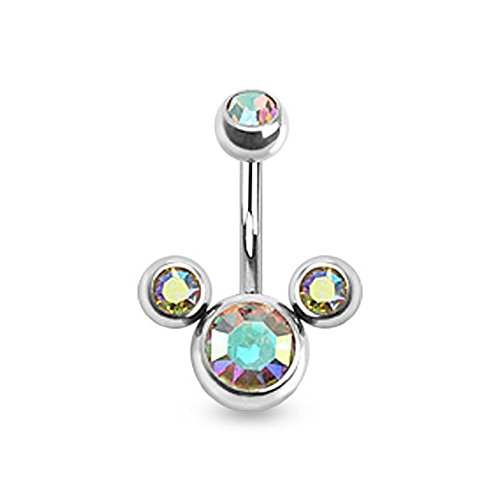 disney belly button rings - 1
