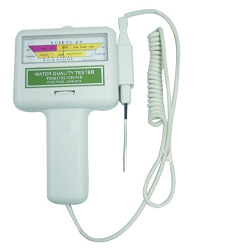 Urparcel Water Quality Ph Cl2 Chlorine Tester Level Meter