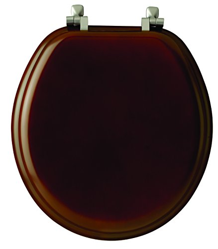 Comfort Seats C2B1R16CH Round Color-Mahogany Seat  with Piano Finish best