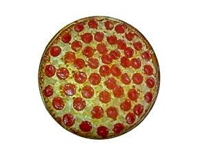 B0060ML5B0TIK DogZZZZ Pizza Bed – Large Round