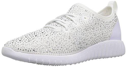 Aldo Women Swayze Sneaker, White, 10 B US