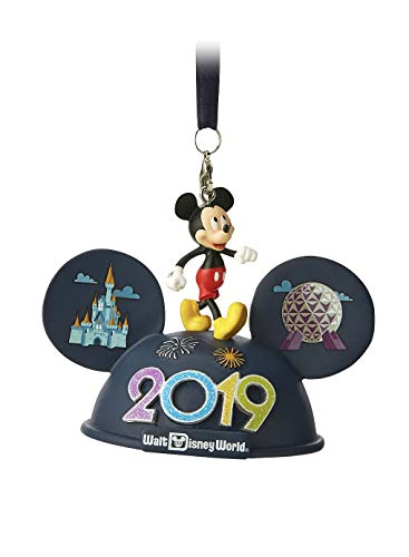Disney World 2019 Mickey Mouse Ears Hat Light Up Ornament (Mouse Ornaments Ears Mickey Christmas)
