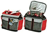 Soft Sided Cooler with Easy Open Top & Pockets (36 Can Cap.) (Random Color)