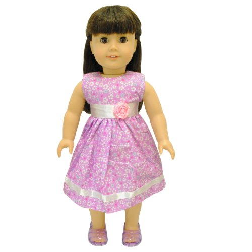 American Girl Doll Clothes - Beautiful Flower Dress Outfit