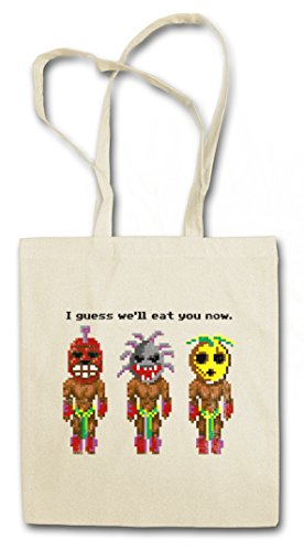 THE SECRET CANNIBALS HIPSTER BAG – Cannibale Monkey Game I guess well eat you now Island of