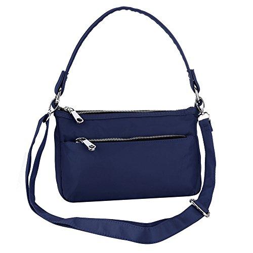 Bolso hombro mujer para UNYU Crossbody Bags Multicolor al Azul IAnYqEwrq