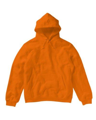 Sg -  Felpa con cappuccio  - Donna arancione Large