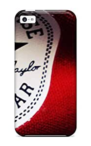 Hot MvSODwE1170Nxhfy YY-ONE Protector For Iphone 5c- Red Converse All Star