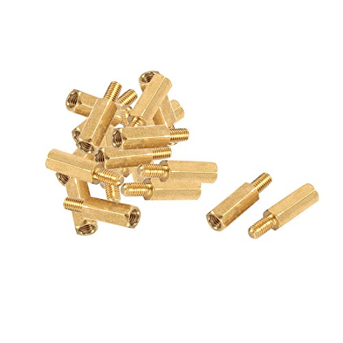 uxcell Brass PCB Motherboard Standoff Hexagonal