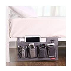 High Quality & Fine Workmanship, adopted heavy duty 600D Oxford, with reinforced stitching, make it strong and durable to be your great bedside buddy.  It's easy to store the bed of small objects, making the living room, bedroom more neat...