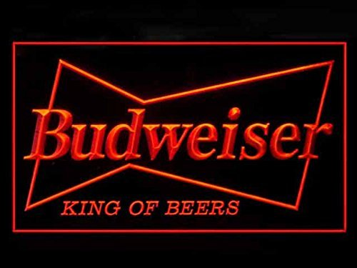 Budweiser King Beer Bar Led Light Sign