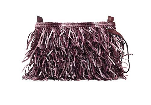 Design Unique Purple Bag Clutch amp; Asena Alex Handmade Woven Beige Colors w8xgqP
