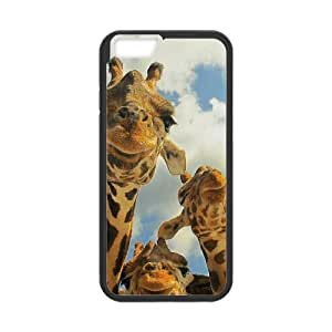 "HXYHTY Cover Shell Phone Case Giraffe For iPhone 6 (4.7"")"