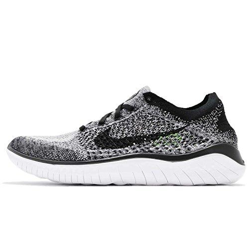 Flyknit Rn Uomo Free Basse Nike Ginnastica black Da white 101 2018 Scarpe Bianco qEOF6