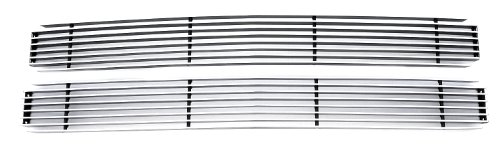 TRex Grilles 20045 Horizontal Aluminum Polished Finish Billet Grille Insert for Chevrolet Pickup Suburban Tahoe