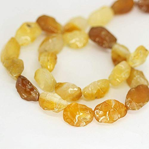 Beads Bazar Natural Beautiful jewellery Honey Yellow Agate Smooth Rough Hammered Puff Marquise Loose Beads Strand 20