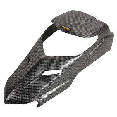 Maier Hood, Stock Style Carbon Fiber Look for Yamaha BLASTER 200 2003-2006 ()