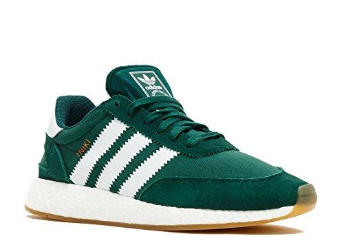 Image of Adidas Iniki Runner Men's Shoes Collegiate Green/White by9726
