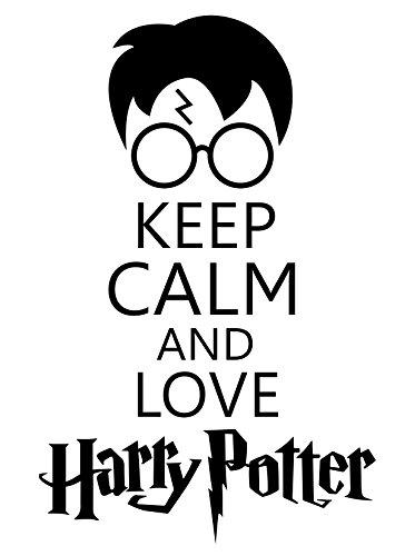 Keep Calm and Love Harry Potter STICKER DECAL VINYL BUMPER CAR Wall Locker Notebook Laptop