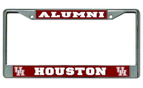University of Houston Alumni Photo License Plate - Store Frame Houston