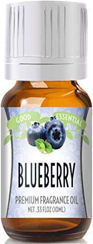 Blueberry Scented Oil by Good Essential (Premium Grade Fragrance Oil) - Perfect for Aromatherapy, Soaps, Candles, Slime, Lotions, and - Blueberry Oil Scent