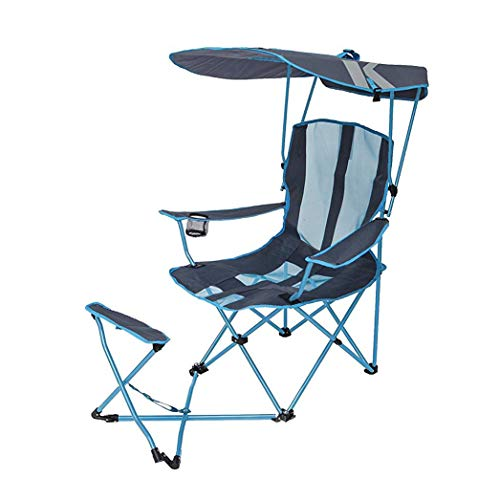 SwimWays Kelsyus Original Canopy Chair with Ottoman (Shade Chair Camping)