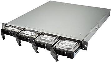 QNAP TS-463XU Ethernet Bastidor (1U) Negro NAS - Unidad Raid ...