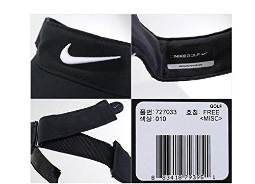 9d0275b3db878 Amazon.com   Nike Golf -Tech Tour Visor Cap Hat Adjustable Black 727033-010    Sports   Outdoors
