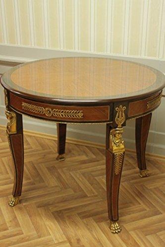 Tavolo rotondo antico stile barocco rococò louisxv mota0950 stile ...
