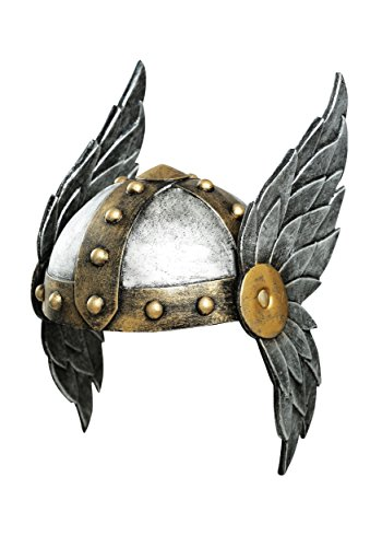 (Fun Costumes Women's Open Face Winged Helmet Standard)