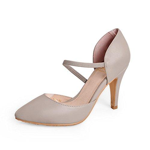 la Mujer zapatos señalado mujer mujer de D de Primavera alta moda Superficial señaló zapatos Zapatos de pRwxgqBgF