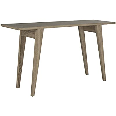 Safavieh Home Collection Manny Oak Console - This console table will add a fresh look to any room The oak finish of this console table will add the perfect accent to your home Crafted of wood - living-room-furniture, living-room, console-tables - 41psYCxeC7L. SS400  -