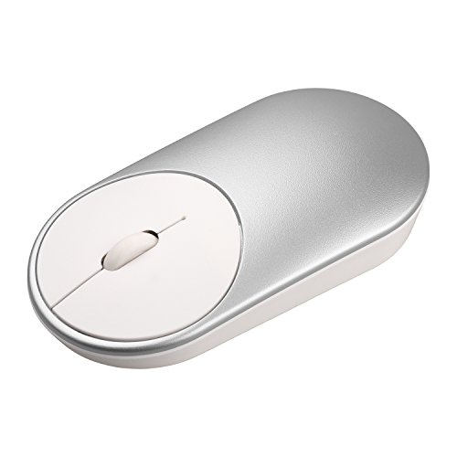 Silver Wireless Rf Optical Mouse (Toogoo Mouse Portable Wireless In Stock Mi Optical Bluetooth 4.0 RF 2.4GHz Dual Mode Connect Mi Office Mouse)
