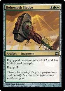 Behemoth Foil (Magic: the Gathering - Behemoth Sledge - Alara Reborn - Foil)