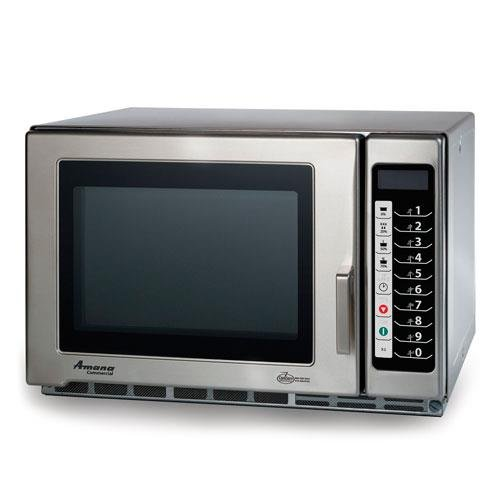 Accelerated Cooking Products RFS18TS Touch Panel Commercial Microwave Oven, Amana RFS Restaurant Line Series, (Amana Commercial Microwave Parts)