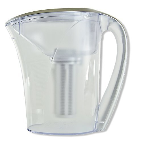 Clear2o Advanced Gravity Water Filter Pitcher Designed with our TRUEFilter Pleated Cat-Ion Water Filter, Includes 1 Filter, GRP200 - Clear2o Water