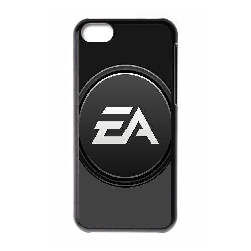 Ea Games 3 coque iPhone 5C Housse téléphone Noir de couverture de cas coque EOKXLLNCD18004