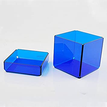 CAJA METACRILATO DADDO COLORES (Azul translúcido)