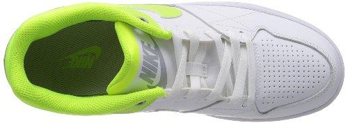 Nike, Sneaker uomo Bianco Weiß / Neon-Gelb 42.5