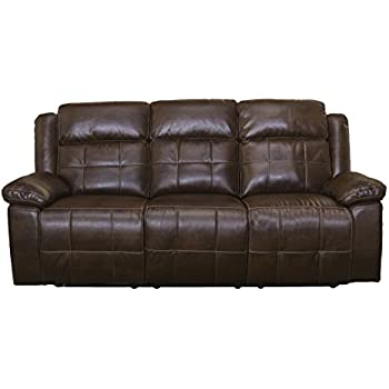 Amazon.com: New Classic Furniture Burke Upholstery Recliner ...