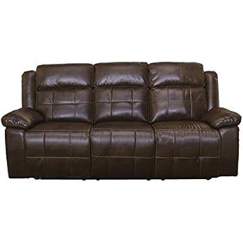 Amazon.com: New Classic Furniture Burke Upholstery Recliner ...