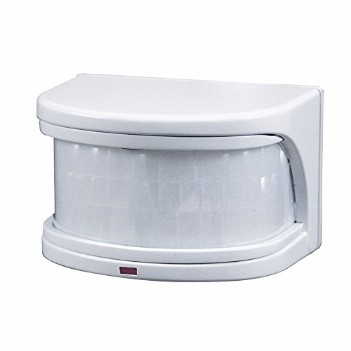 Heath Zenith SL-5716-WH-B 270-Degree Replacement Motion Sensor, White - 270 Degree Motion Detector
