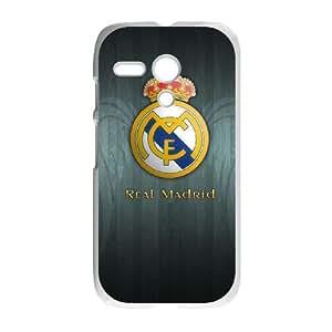 Motorola G Cell Phone Case White Real Madrid SUX_057949
