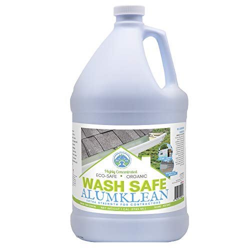 - Wash Safe Industries AlumKlean Aluminum Siding and Gutter Cleaner 1 Gal