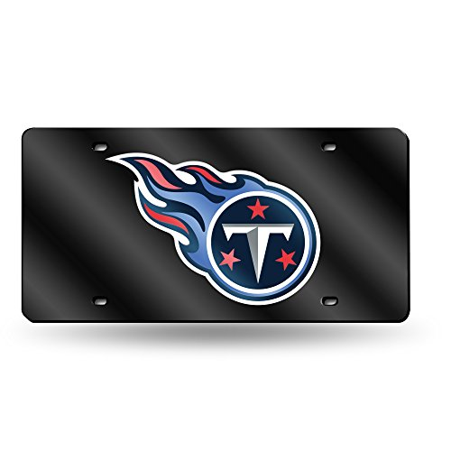 Tennessee Titans Laser License Plate - NFL Tennessee Titans Laser Inlaid Metal License Plate Tag
