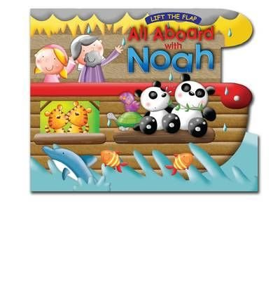 Download All Aboard with Noah: Lift the Flap Book (Board book) - Common pdf epub