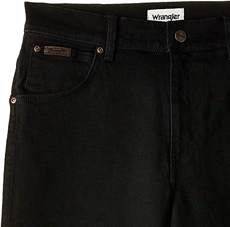 Wrangler Jeansy mężczyźni, kolor: czarny: Odzież